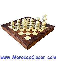 craft wood chessboard