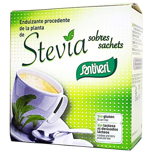 Sweetener Stevia no gluten lactose or sugar 50 sachets ...
