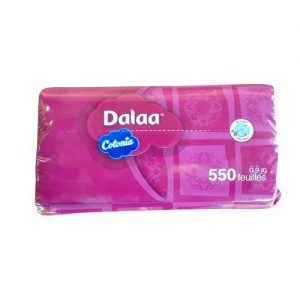 Mouchoirs Plastique 550 Feuilles Dalaa