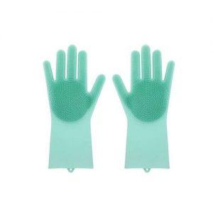 clean gloves brush sponge