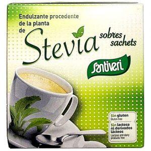 Santiveri Stevia sachets sans gluten sans lactose et sans sucre