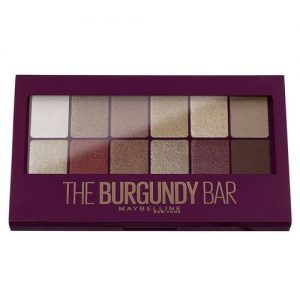 Maybelline New York Burgundy Bar - Palette Fards À Paupières 04 Burgu.