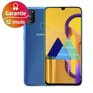 "Samsung Galaxy M30s 4G 6.4"" (4Go, 64Go) Android - 48MP+8MP+5MP/16MP - 6000mAh - Bleu"