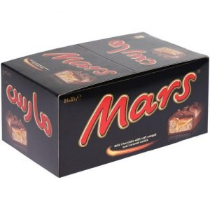 Mars Chocolat single 24 X 51G