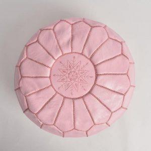 pouf rose