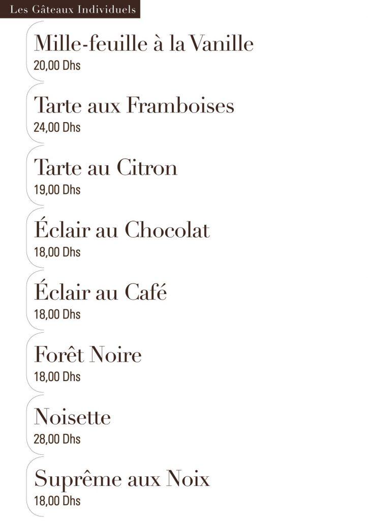 Mile feuilles tarte Franboises ctron 2clair au chocolat au café Forêt noire noisette  suprême aux noix