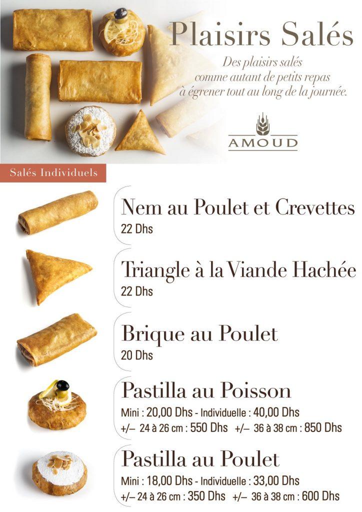 Nem au poulet et crevettes - Triangle à la viande hachée - Pastilla au poisson - Pastilla au poulet brique au poulet