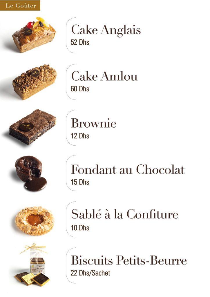 cake anglais amlou brownie fondant au chocolat sablé à la confiture biscuits petits beurre