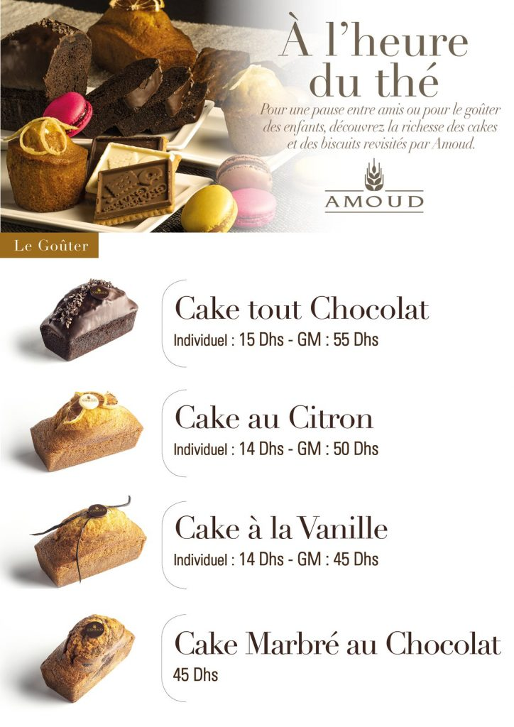 Cake chocolat citron vanille marbé